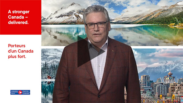 Read CEO Report and watch video about Canada Post receiving Best 50 Corporate Citizens recognition